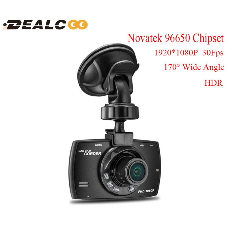 2016 New Arrival G30 WDR Full HD 170 Degrees Night Vision Car DVR Camera Recorder BlackBox