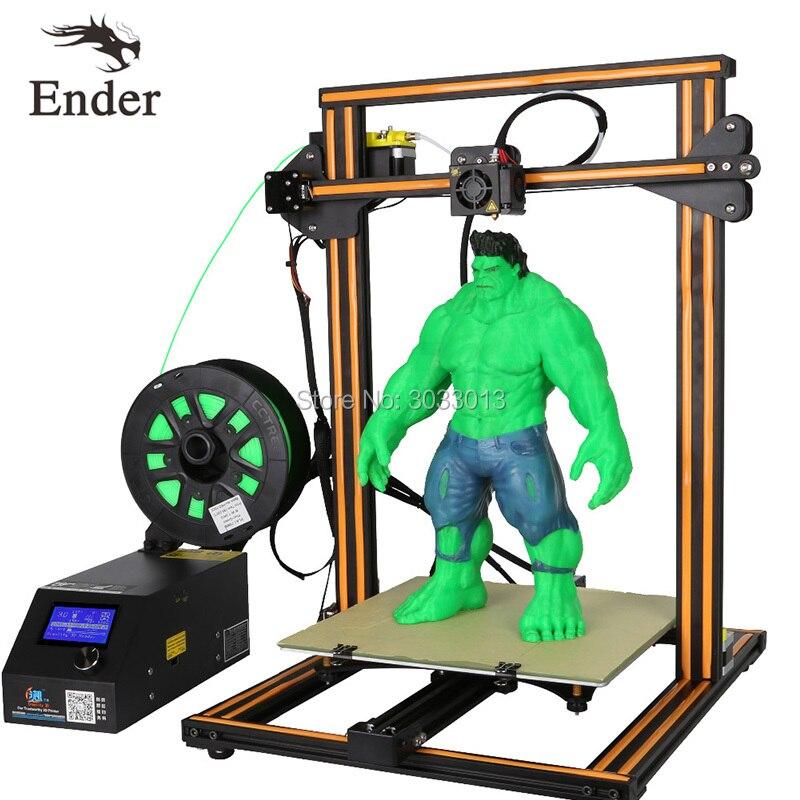 CR 10s 3D Printer DIY KIT Dual Rod Large print size Filament Monitoring Alarm Continuation Print