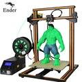CR-10s/CR-10 3D DIY KIT de impresora de doble varilla de gran tamaño de impresión filamento de alarma continuación imprimir I3 impresora 3D Creality 3D