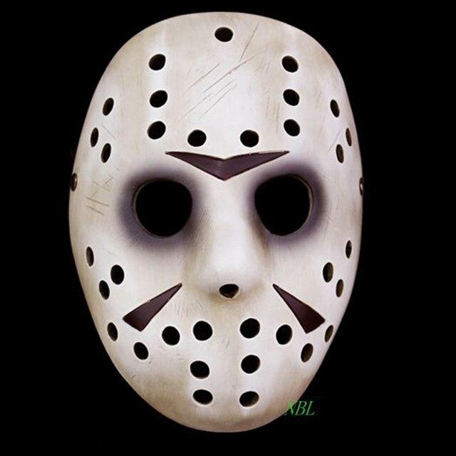 Jason and Freddy Vs Jason Mask Halloween Memorial Classics Film Jason Voorhees Freddy Hockey Resin Masks Cosplay Masquerade