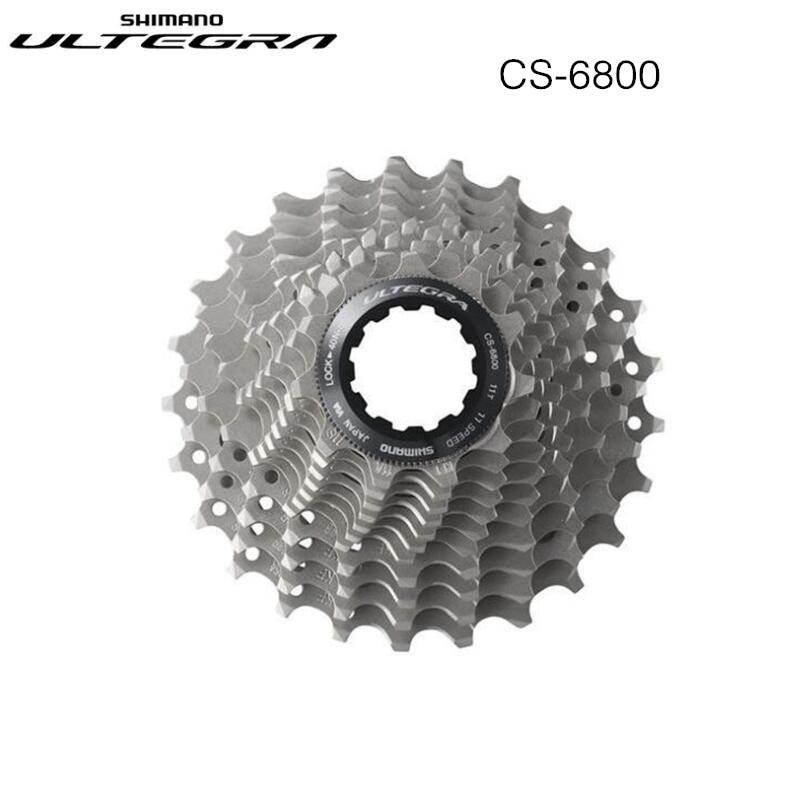 цена на Shimano Ultegra CS-6800 Road Bike Cassette Flywheel 11 Speed 12-25T 14-28T Sprocket Road Bicycle Cassette Flywheel