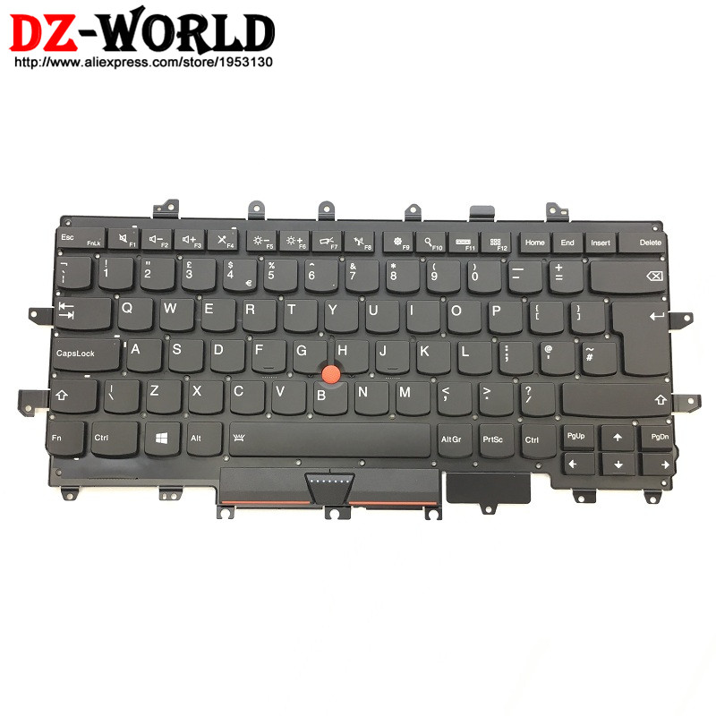 New Original for Lenovo Thinkpad X1 Carbon 4th Gen 4 MT: 20FB 20FC UK English Keyboard Backlit Teclado 00PA727 SN20K74775 new for lenovo thinkpad carbon x1 gen 4 4th x1c 2016 laptop keyboard backlit russian no frame balck