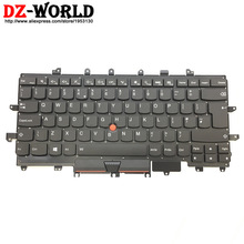 English-Keyboard Thinkpad Teclado Backlit Lenovo New for X1 Carbon 4th-Gen 4-Mt:20fb
