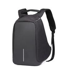 14 to15.6 дюймов Водонепроницаемый Оксфорд зарядка через USB Для Мужчин's Для женщин рюкзак Mochila для Для женщин S школьная сумка пакет ноутбук Тетрадь XD Дизайн