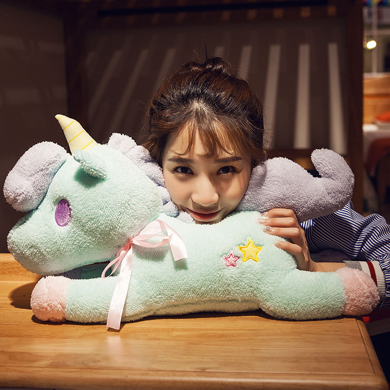 candice guo! Super cute plush toy little twin star unicorn pony soft papa doll pillow tissue cover creative birthday gift 1pc candice guo plush toy stuffed doll cartoon animal little sheep cute lamb soft pillow cushion birthday gift christmas present 1pc