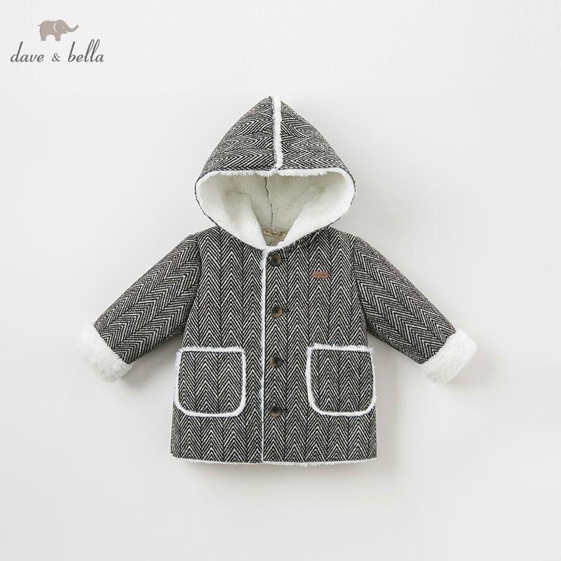 DB8706 dave bella baby boy jacket children outerwear fashion coat black white coat 84665 leather jackets children spring baby boy jacket faux leather boy outerwear casual kids coat fashion boy coat fashion