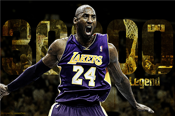 Custom Canvas Art Kobe Bryant Poster Black Mamba Sticker Mural NBA Basketball Wallpaper Lakers Wall Stickers Decoration P1252 In From Home