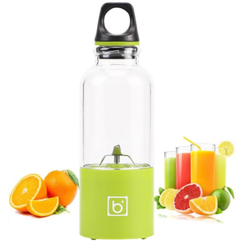 550ml Portable Electric USB Juicer Cup Rechargeable Orange Citrus Lemon Fruit Juicer Blender Juice Smoothie Maker