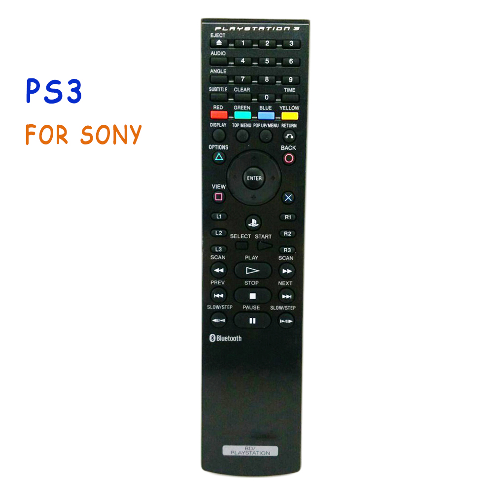 Used Original Remote Control PS3 CECHZR1U Blue-Ray Disc Bluetooth Remote Control For SONY PS3 PLAYSTATION 3 BD Controle mando new original rmt vb200d rmtvb200d for sony bd dvd blu ray disc remote control for bdp s6700
