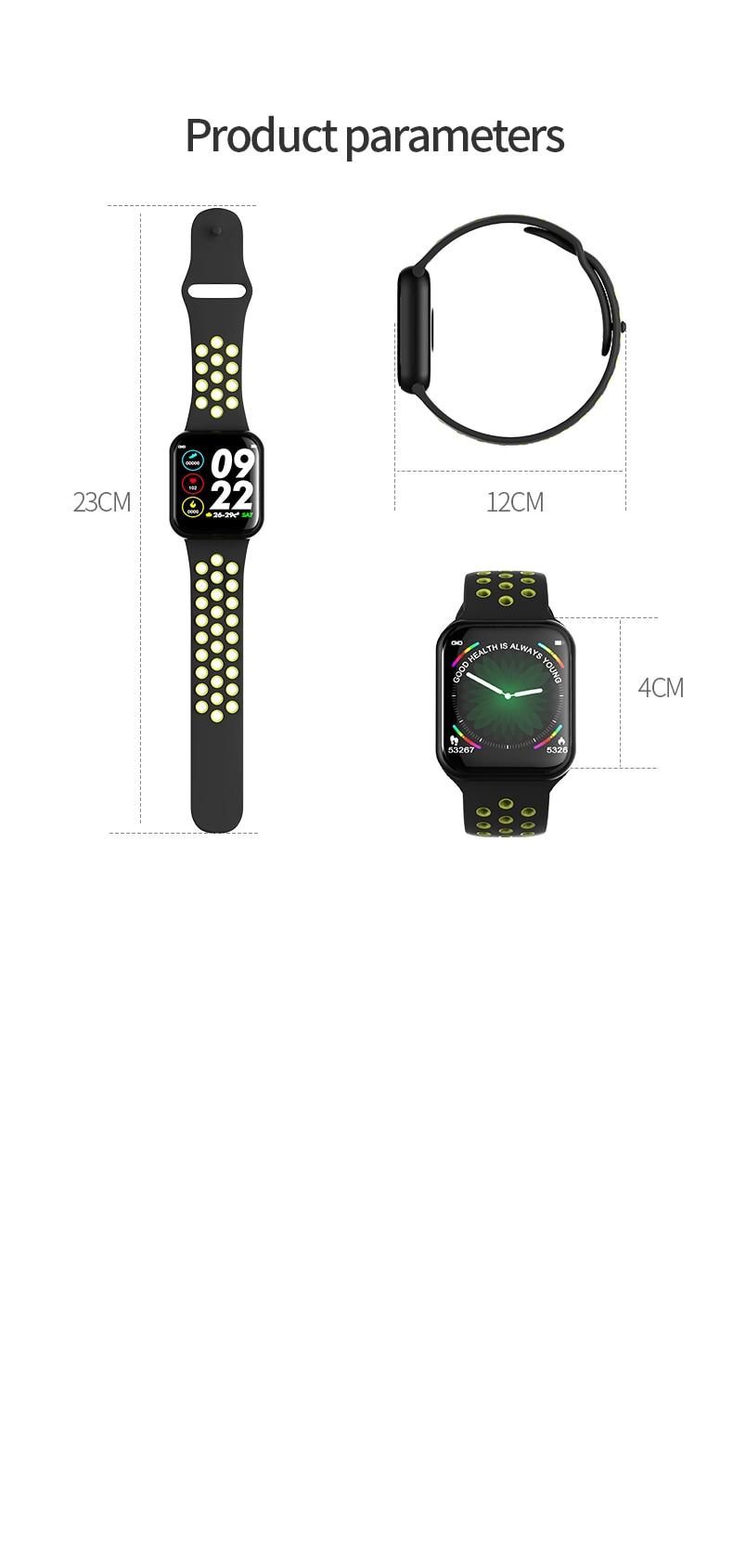 Smart Watch Fitness Tracker Heart Rate Monitor Bracelet