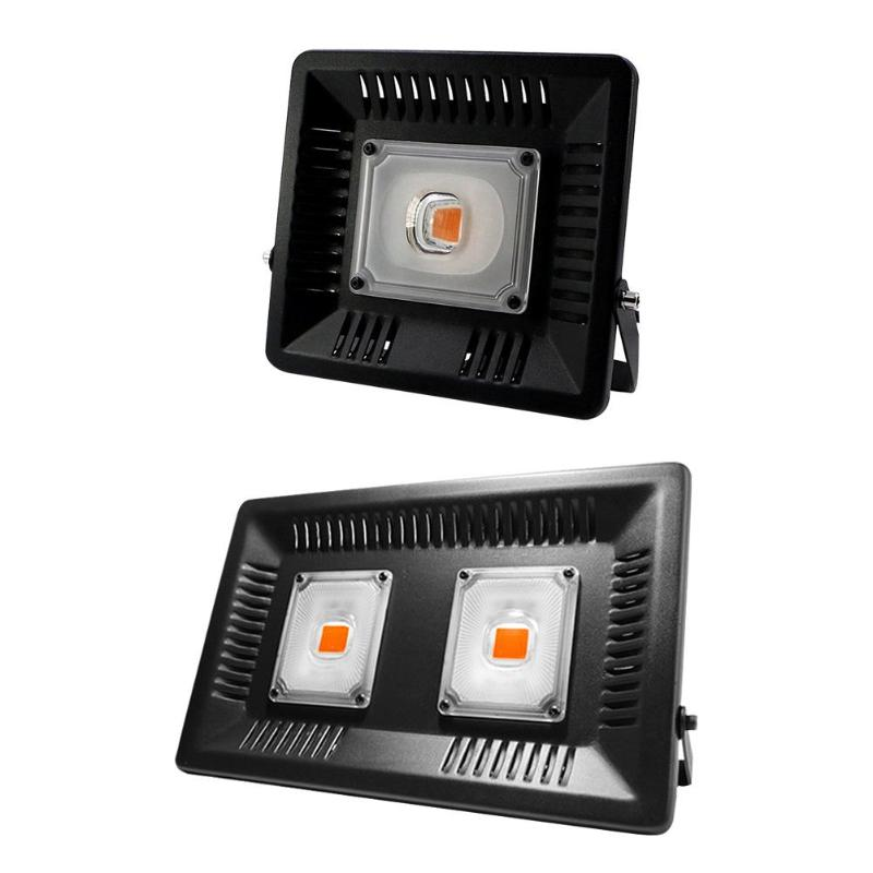 LED Flood Light 50W/100W Waterproof Grow Lamp For Plant Indoor Hydroponic Ultra-thin Ultra-light Linear Plant Light