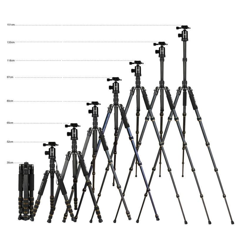 ZOMEI Z699C Trípode portátil de fibra de carbono con rótula de - Cámara y foto - foto 5
