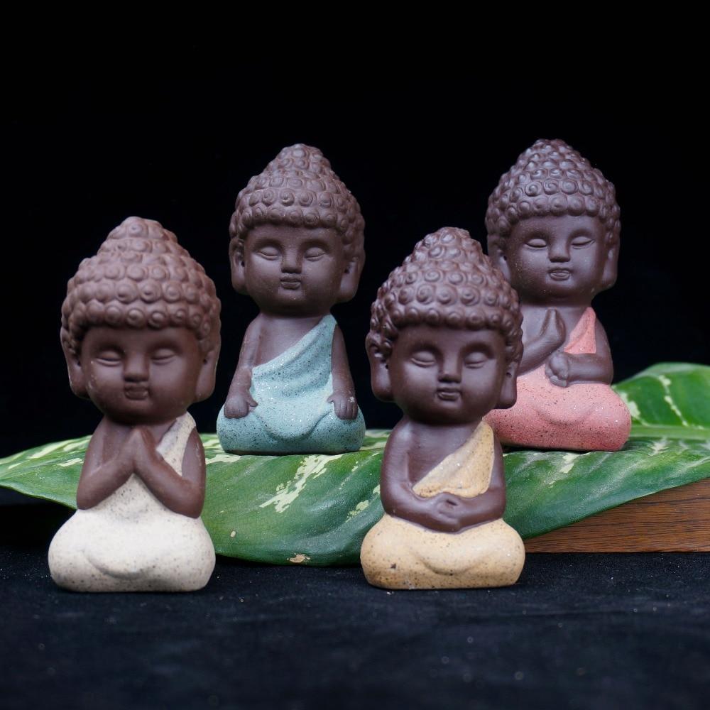 Litttle Buddha Ceramic Figurine 2