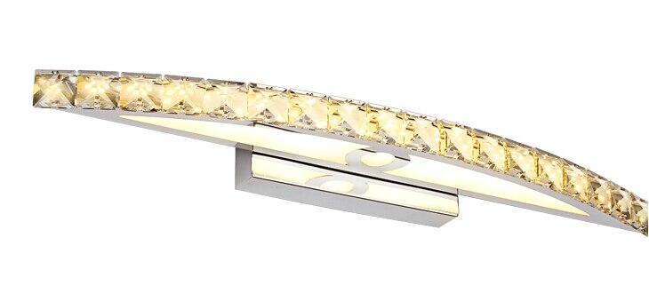 Luz Make-up lâmpadas de Parede de Cristal