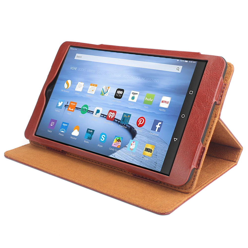 US $12 08 7% OFF For Amazon Kindle Fire HD 10 2017 Tablet Case Flip Wallet  Stand Leather Case For Coque Amazon Kindle Fire HD 10 2017 Cover Funda-in