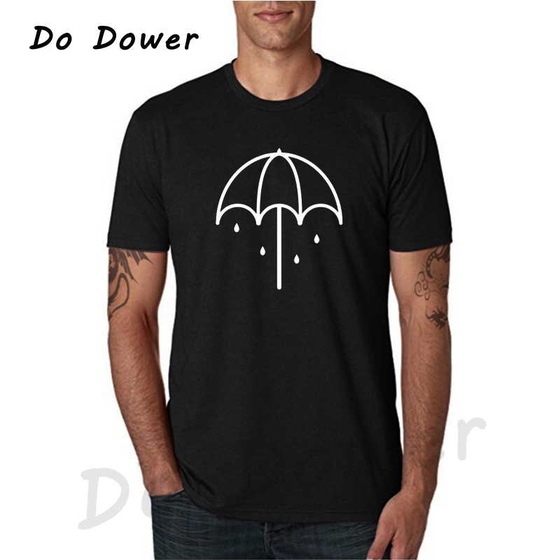 2018 Bring Me The Horizon Fashion T-shirts Metalcore Stijl Zomer Korte Mouw Wit T-shirt Cool Tops Tees Casual Kleding