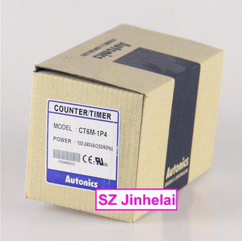 CT6M-1P4 New and original Autonics Count relay  100-240VAC Counter/timer