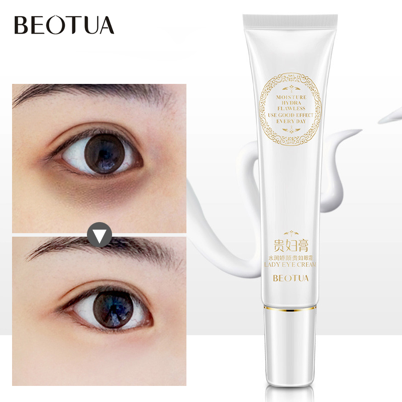 BEOTUA Moisturizing Eye Serum Anti-Wrinkle Remover Dark Circles Hyaluronic Acid Eye Essence Against Puffiness Anti Aging Ageless