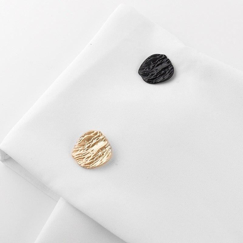 TWOTWINSTYLE Irrégulière T-shirt Pour Femmes Hors Épaule Patchwork Taille Haute hauts pullover 2018 Printemps été Vêtements Élégants - 6
