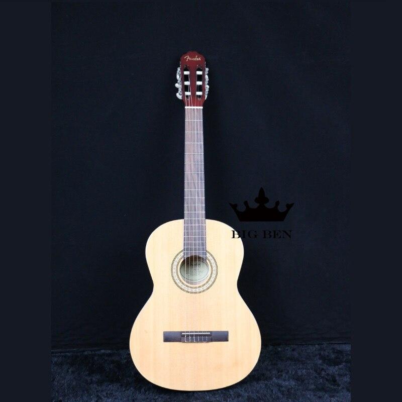 Guitare classique en bois de pin 39 pouces guitare classique spéciale 39 pouces guitare en bois stratifié palissandre planche à doigt 39 pouces guitare gratuite