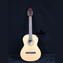 Pine wood classic guitar 39INCH special classical 39inch laminate wooden rosewood finger board 39 inch free