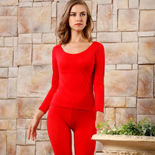 Ladys winter thermal top & bottoms 2pc