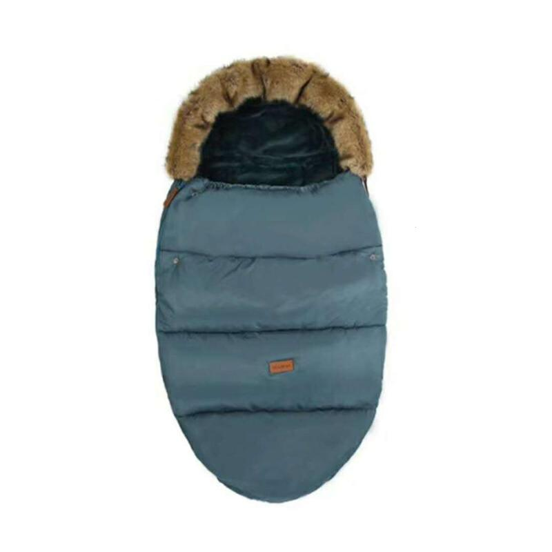 купить Baby Pram Sleeping Bag Thicken Warm Baby blanket Footmuff carriage stroller sleeping bag baby safety seat sleepsack B2 недорого
