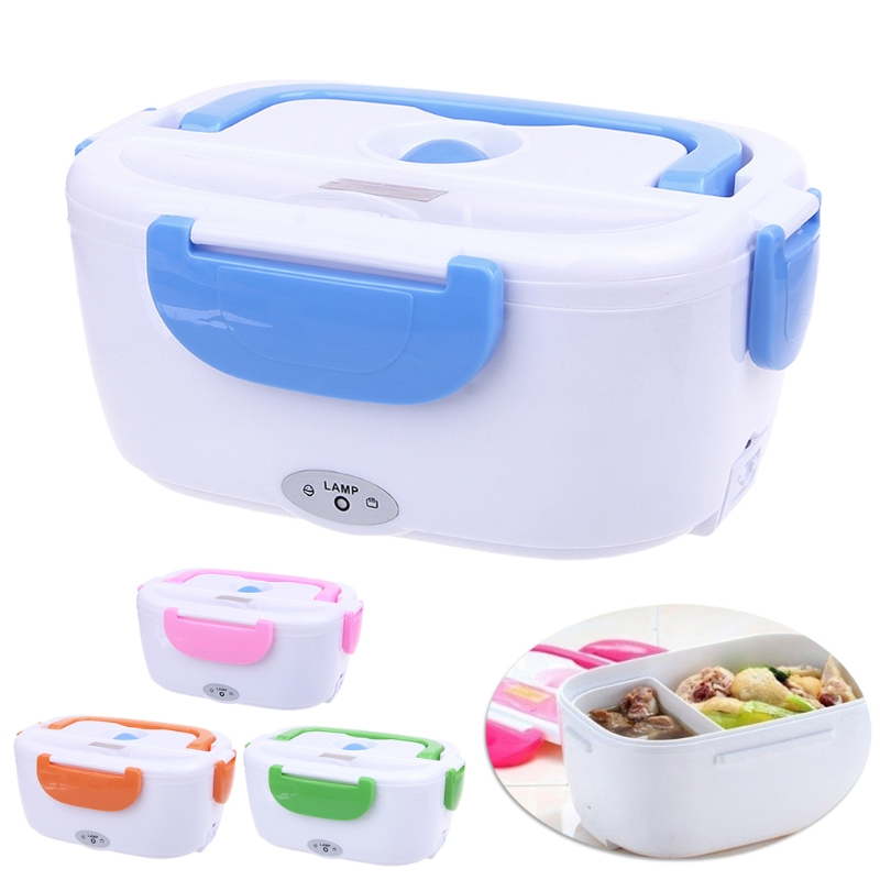 Portable Electric Heated Food Warmer Box Container Lunch Meal Lunchbox 110V USPortable Electric Heated Food Warmer Box Container Lunch Meal Lunchbox 110V US