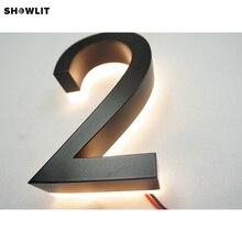Свет 3D светодиодный подсветка внешние буквенные знаки