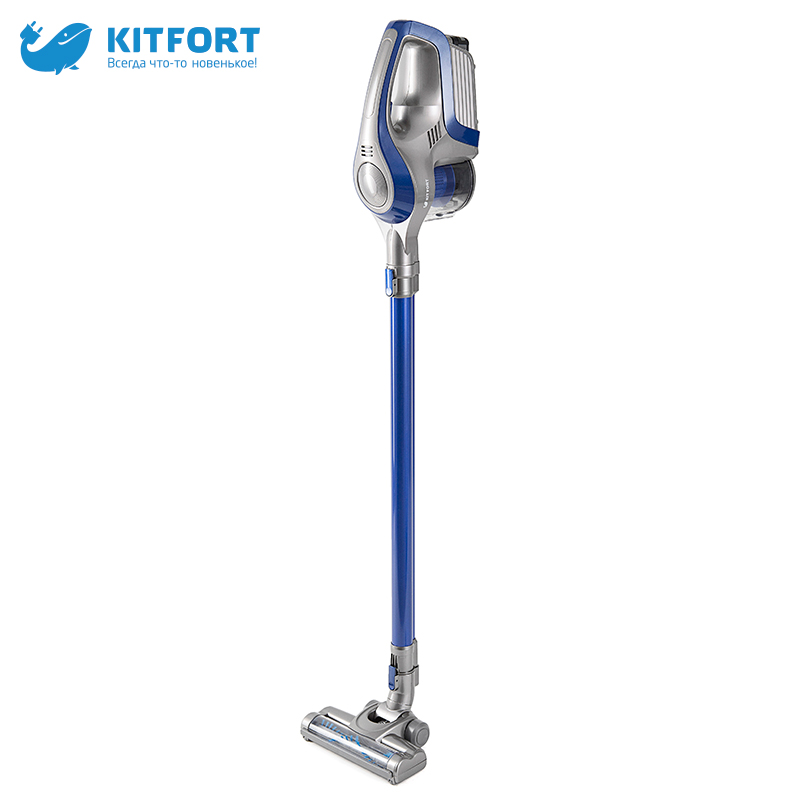 Vacuum Cleaner Kitfort KT-515 Home Portable Powerful Handheld Dust Collector Stick wireless vertical dry cleaning cyclone canister vacuum cleaner for home puppyoo p9 aspirator powerful suction 2200w cyclone portable household cleaning appliances
