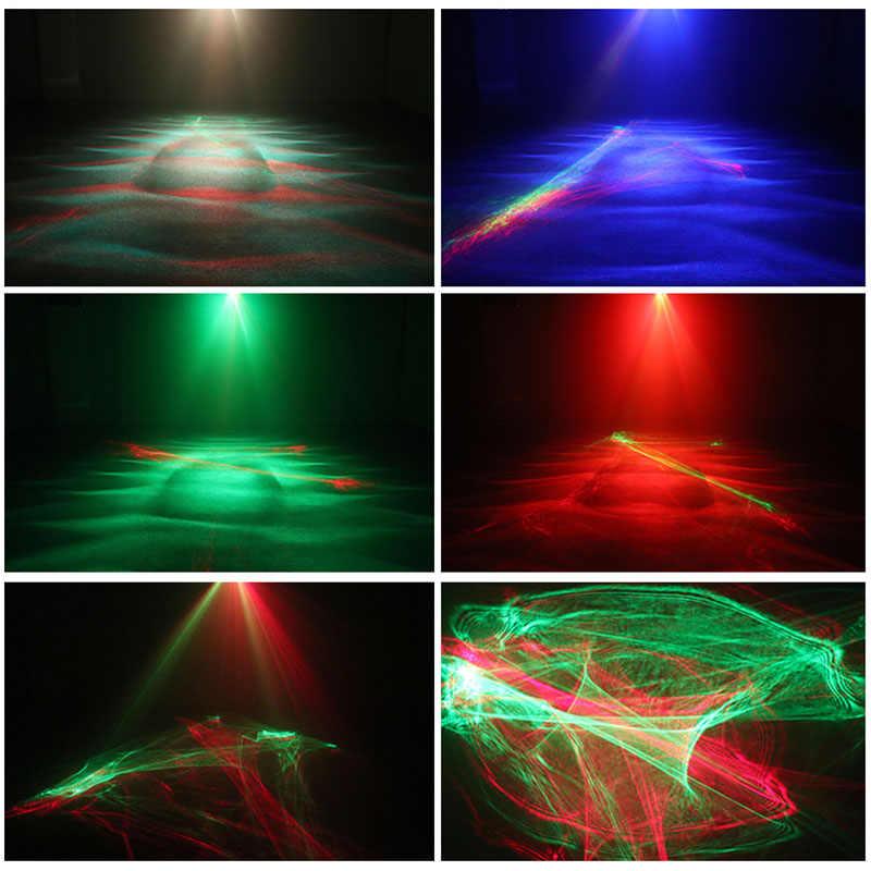 20 in 1 LED Wasser Welle Laser Licht Projektor Bühne Beleuchtung Wirkung Remote RG Aurora Party Disco KTV DJ Urlaub weihnachten Led-leuchten