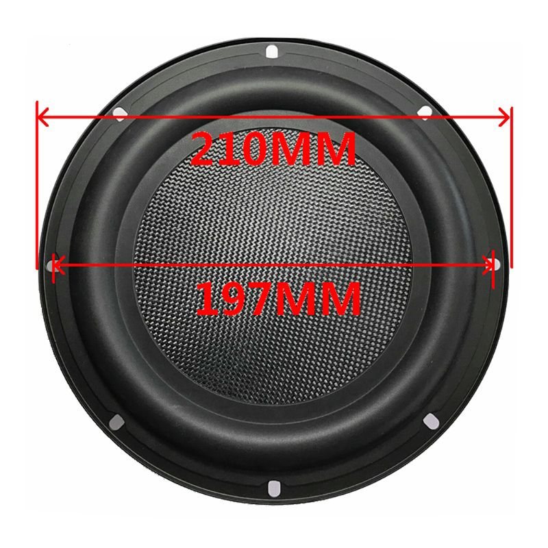 Audio Speakers Passive Radiator 8 Inch Diaphragm Bass Radiators Subwoofer Speaker Repair Parts Accessories DIY Home Theater