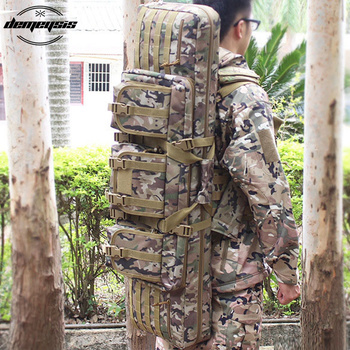 Large Capacity Hunting Rifle Bag Outdoor Tactical Airsoft Paintball Carbine Gun Case Backpack 92cm 107cm 120cm