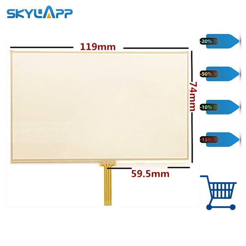 Skylarpu New 5 inch Touch screen panels for TomTom 4EN52 Z1230 GPS digitizer panel replacement  Free shipping Skylarpu New 5 inch Touch screen panels for TomTom 4EN52 Z1230 GPS digitizer panel replacement  Free shipping