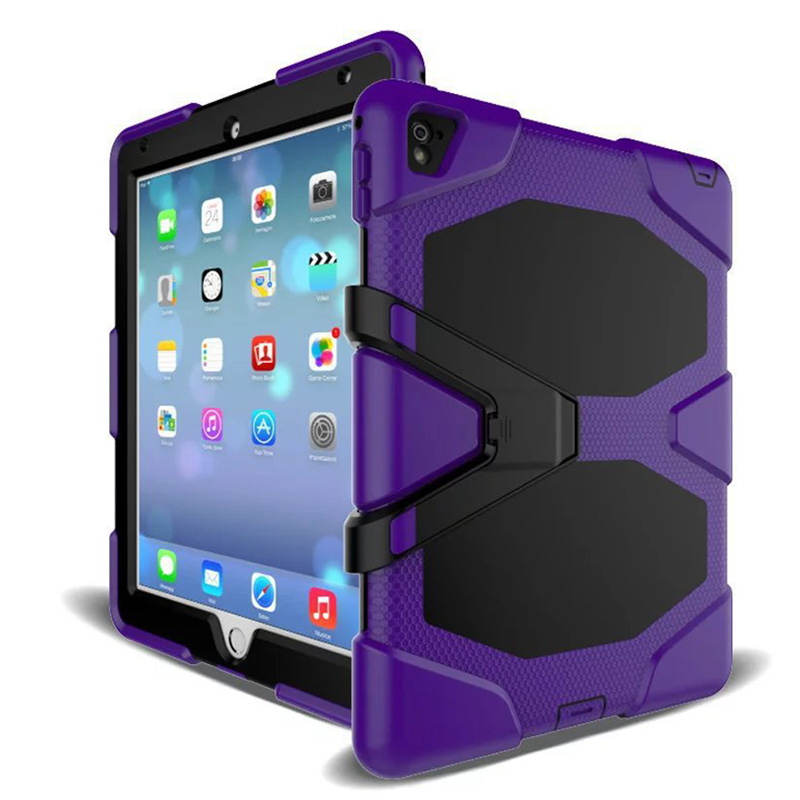 Tablet Case For iPad Mini 1 2 3 Waterproof Shock Dirt Snow Sand Proof Extreme Army Military Heavy Duty Kickstand Cover Case (6)