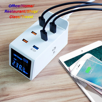 Quick Charge 3.0 USB Charger 8A MobileTablet PC Universal Power Socket  Fast Charging HUB Wall Adapter for Apple Huawei Samsung