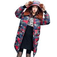 Nice Winter New Camouflage Parkas Women Lambs Wool Coat Thick Cotton Liner Long Hoodies Lady Parkas Warm Slim Coat LU255