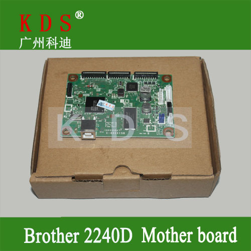 Original matherboard for brother HL2240  formatter board for brother printer parts  LV0553001 remove from new machine original all in one printer parts network board for hp m4345mfp fax board q3701 60004 remove from new machine new version
