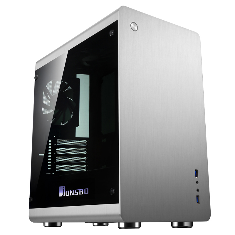 JONSBO RM3 Aluminum Cover opening Support Big power supply multimedia PC box Computer case