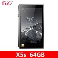 NEUE FIIO X5S 64GB X5 3nd Gen Verbesserte version Android-basierend WIFI Bluetooth APTX Tragbare mp3-Player mit 64G eingebauter Speicher