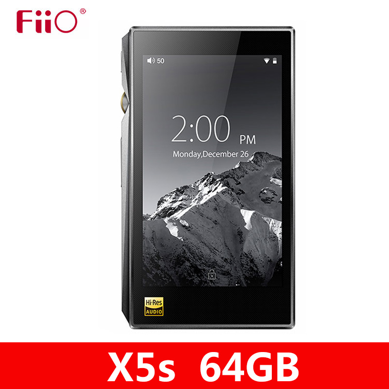 NEW FIIO X5S 64GB X5 3nd Gen Upgraded version Android-based WIFI Bluetooth APTX Portable mp3 Player with 64G built-in Storage image