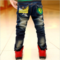 2016 newest Spring and Autumn Children's trousers Cowboy trousers male child big boy jeans pants