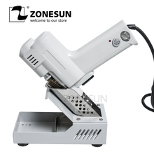 ZONESUN  Desoldering Gun Vacuum Desoldering Pump Solder Sucker Gun heating core suction tin S-993A torch core iron core 90W