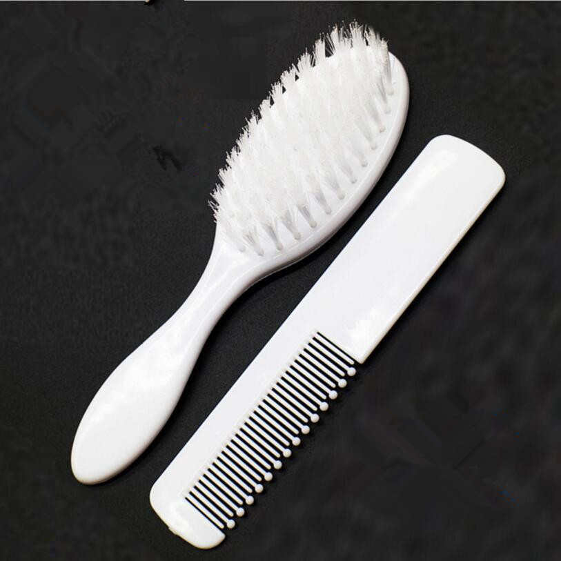 ABS Baby Hairbrush Newborn Hair Brush Infant Comb Head Massager For Boys And Girls