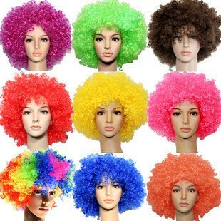 10pcs/lot Dance clown wig,Wholesale fans exploded head,Carnival holidays hair Party toupee supplies