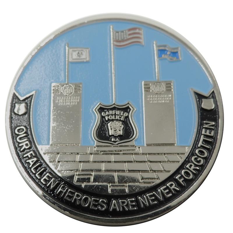 Custom Design Metal Enamel Military Coins cheap custom metal coins enamel color