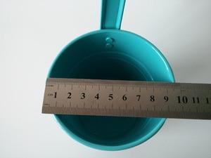 Image 5 - 10 pièces/lot paniers suspendus D9.5XH17CM pots en fer pour jardin denfants balcon suspendu Pot paniers en métal Dot design coloré