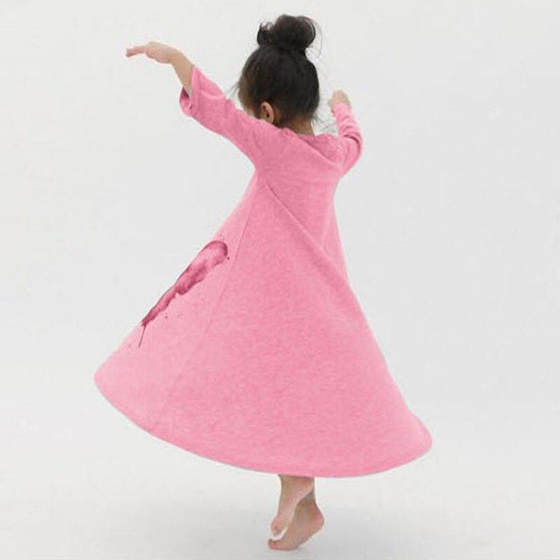 ᗕNiñas vestido ropa de los niños del resorte lindo mariposa manga ...