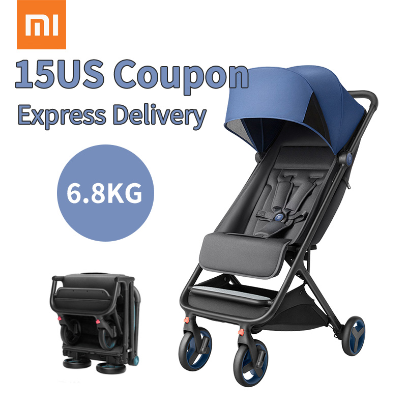 2019 new baby stroller ultra-light and easy to fold one-handed folding carry on air plane  wheel shock absorber
