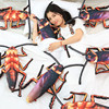 Simulation False Spoof Cockroach Plush Toy 3D Halloween Jokes Gags Pranks Maker Trick Fun Novelty Funny